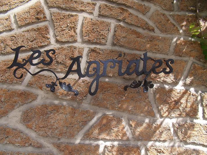 Forge de vulcain lettres en fer forg nos r alisations de lettres en fer f - Nom de maison fer forge ...